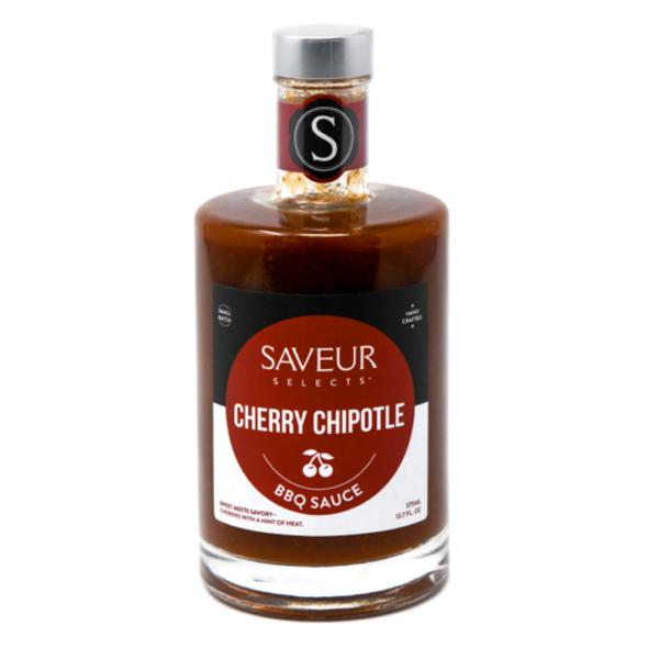 Saveur Selects 12.7 oz. Cherry Chipotle BBQ Sauce
