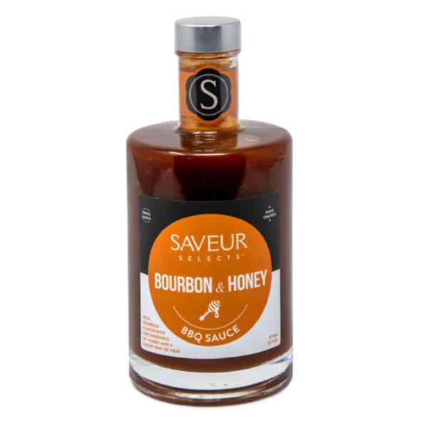 Saveur Selects 12.7 oz. Bourbon Honey BBQ Sauce