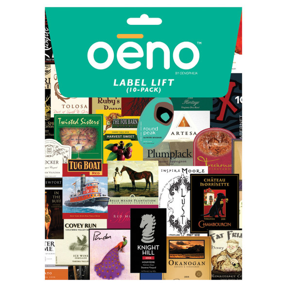 Oenophilia Wine Label Remover (Pack of 10)