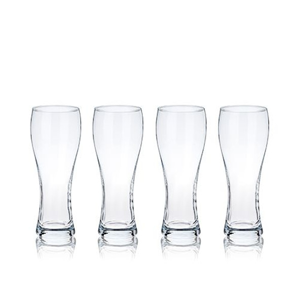 Wheat Beer Glasses by True (Set of 4)