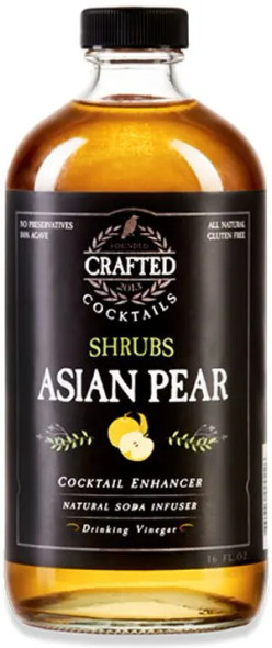 Crafted Brand Company 16 oz. Asian Pear Shrubs Cocktail Enhancers