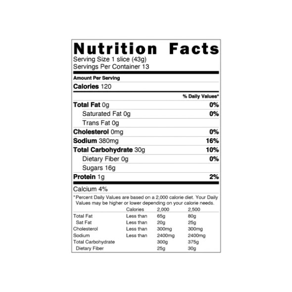 The Really Great Food Company 23 oz. Gluten Free Coffee Crumb Cake Mix