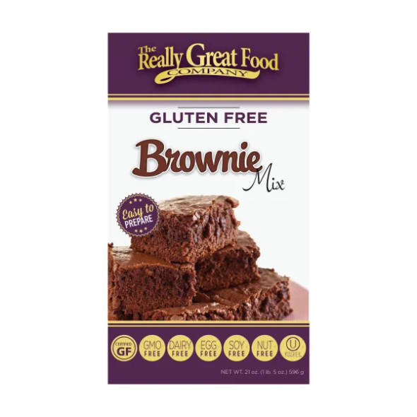 The Really Great Food Company 21 oz. Gluten Free Brownie Mix