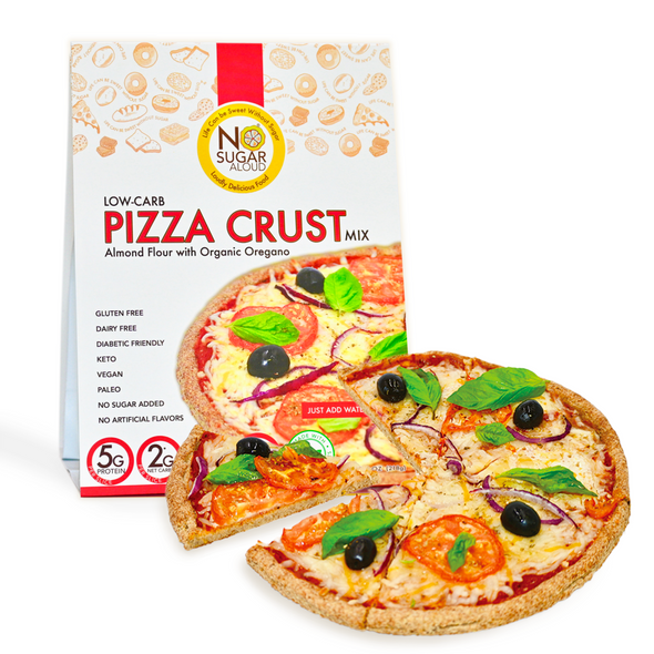 No Sugar Aloud 8 oz. Low Carb Pizza Crust Mix
