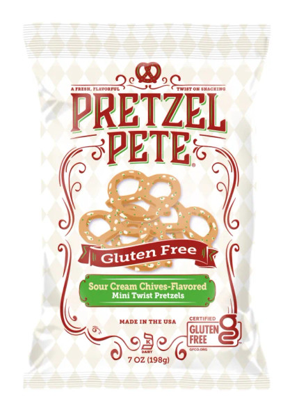 Pretzel Pete 7 oz. Gluten Free Sour Cream Chive (3 Pack)