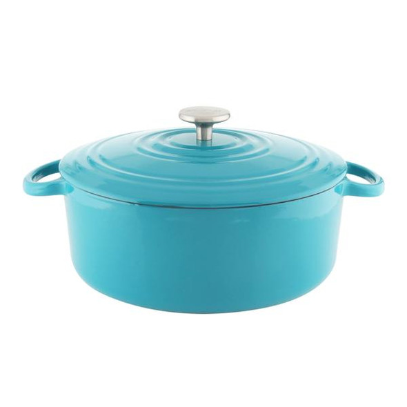 Chantal® Tradition 7 Quart Covered Enameled Cast Iron in Sea Blue