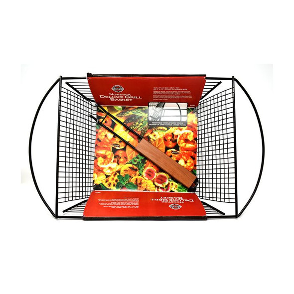 Norpro® Nonstick Deluxe Grill Basket with Removable Handle