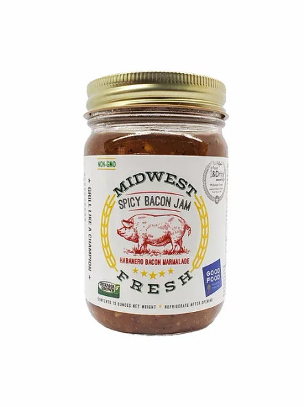 Midwest Fresh 13 oz. Spicy Bacon Jam
