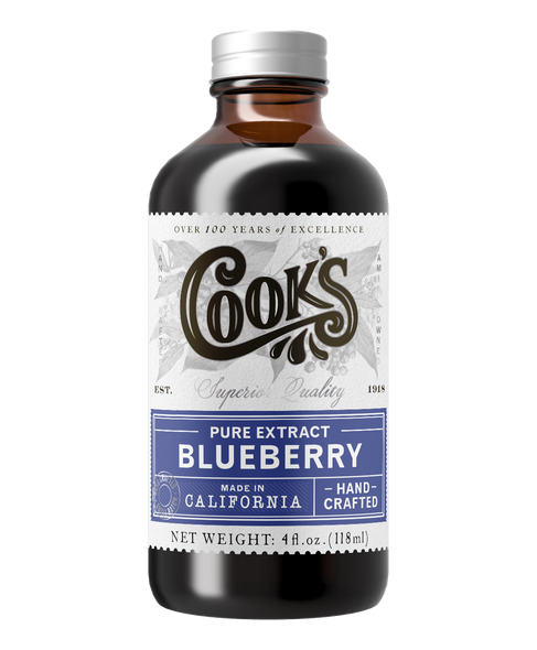 Cook's 8 oz. Pure Blueberry Extract