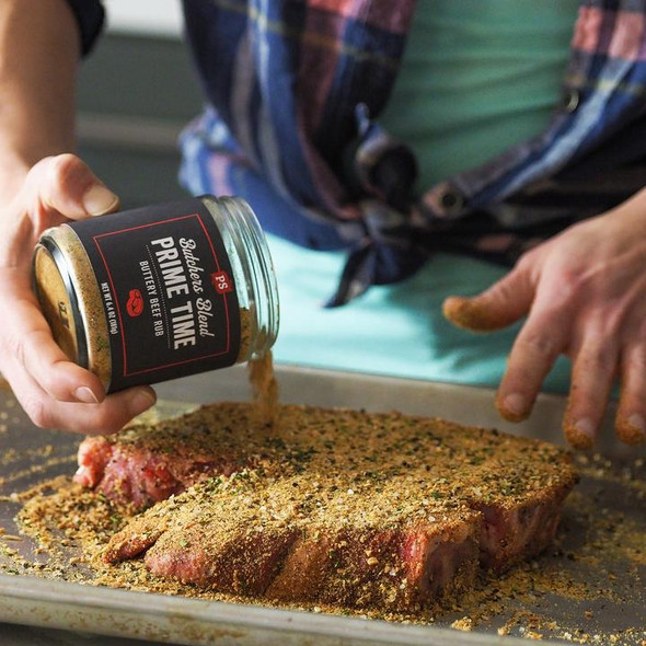 PS Seasoning 6.4 oz. Prime Time Buttery Beef Rub