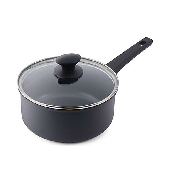 Cuisipro Soft-Touch Nonstick 3 qt. Aluminum Covered Saucepan
