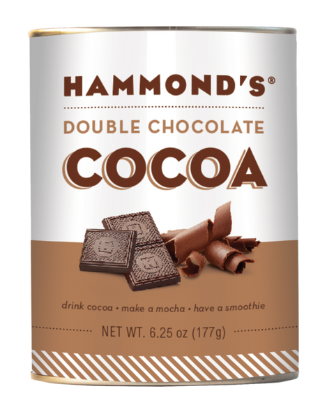 Hammond's Candies 6.25 oz. Natural Double Chocolate Cocoa Mix