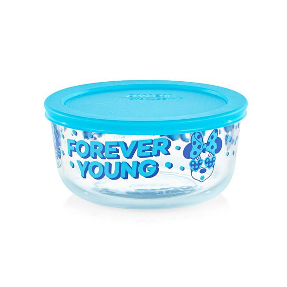 Pyrex® 4-Cup Decorated Storage Minnie Mouse Forever Young