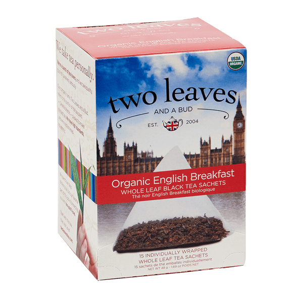 Two Leaves And A Bud Organic English Breakfast (15 Count Box)