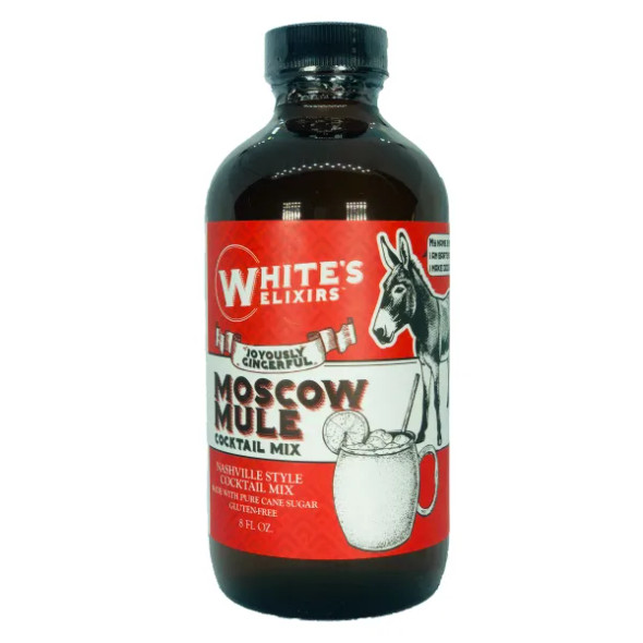 White's Elixirs 8 oz. Moscow Mule Cocktail Mix