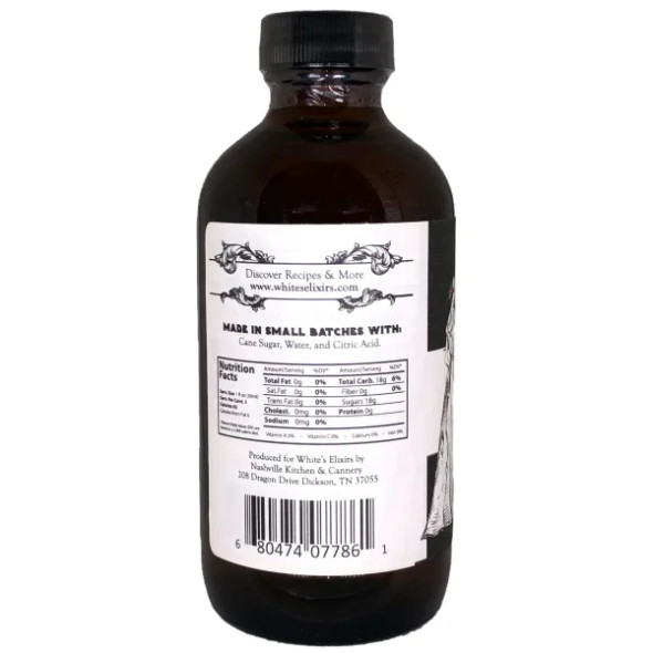 White's Elixirs 8 oz. Simple Syrup Cocktail Mix