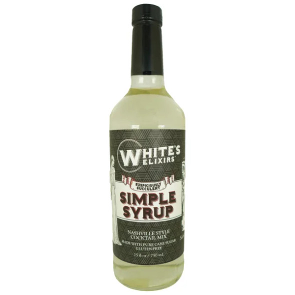 White's Elixirs 25 oz. Simple Syrup Cocktail Mix
