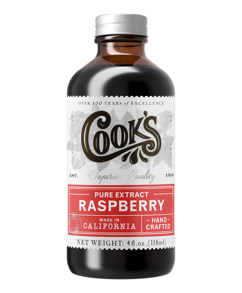 Cook's 32 oz. Pure Red Raspberry Extract