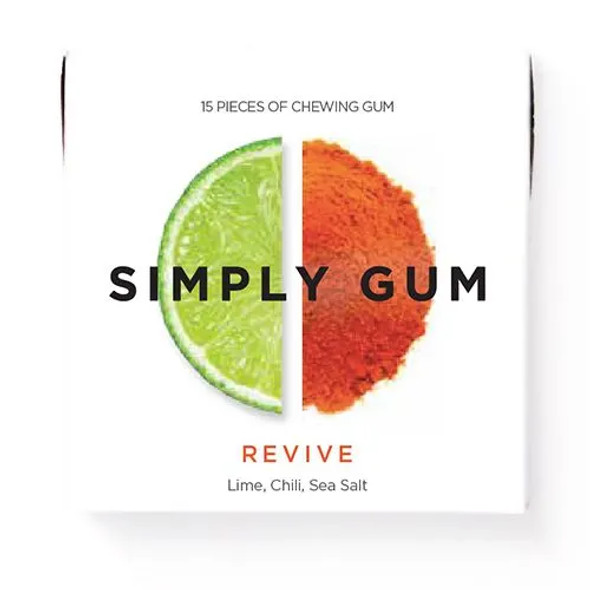 Simply Gum 15-Piece Revive Natural Chewing Gum