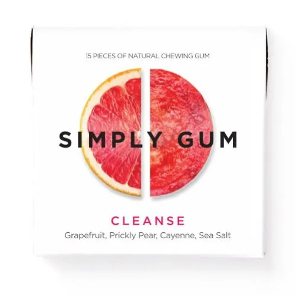 Simply Gum 15-Piece Cleanse Natural Chewing Gum