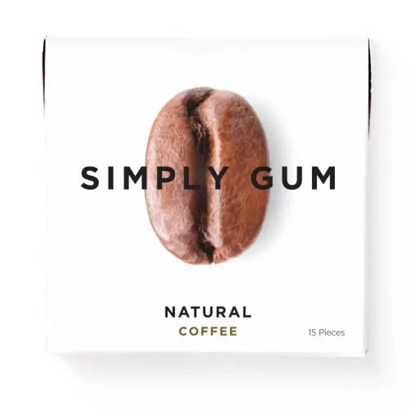 Simply Gum 15-Piece Fennel Natural Chewing Gum