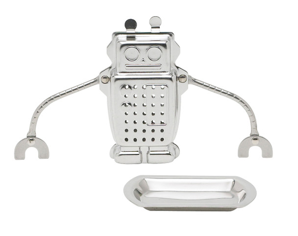 Hangin Dunkin Robot Tea Infuser with Drip Tray