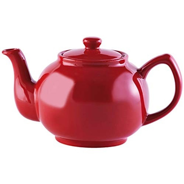 Price & Kensington® 6 Cup Stoneware Teapot in Red