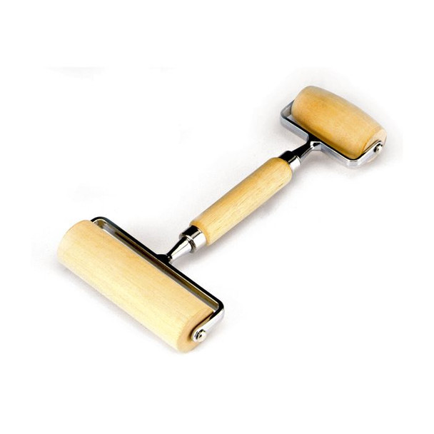 Norpro® Wood Deluxe Large Pastry/ Pizza Roller