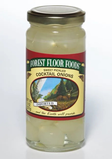 Forest Floor Foods 8 oz. Sweet Cocktail Onions
