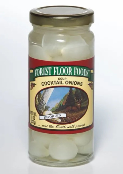 Forest Floor Foods 8 oz. Sour Cocktail Onions
