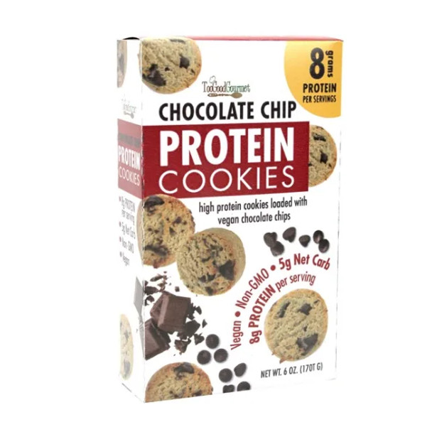 Too Good Gourmet 6 oz. Chocolate Chip Protein Cookies