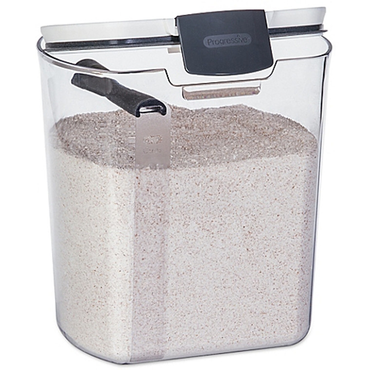 Progressive™ 5 lb. Flour Prokeeper in White/Grey
