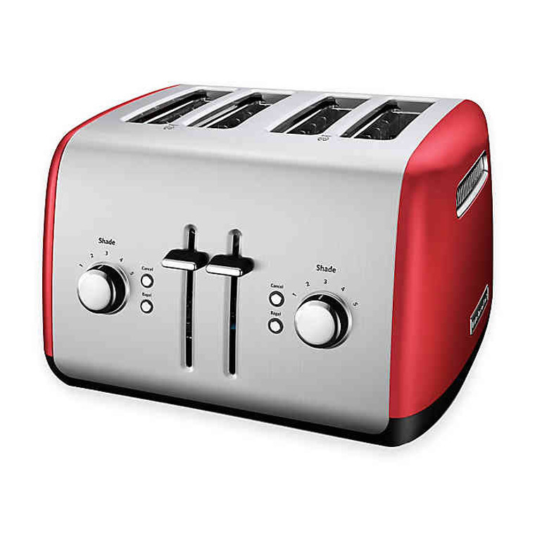 KitchenAid® 4-Slice Toaster in Red