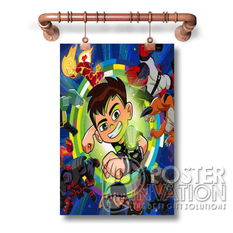 Ben 10 Custom Art Silk Poster Wall Decor 20 x 13 Inch 24 x 36 Inch