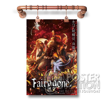 Fairy Gone Custom Art Silk Poster Wall Decor 20 x 13 Inch 24 x 36 Inch