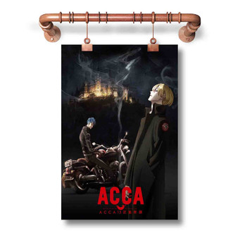 ACCA 13 Territory Inspection Dept Custom Art Silk Poster Wall Decor 20 x 13 Inch 24 x 36 Inch