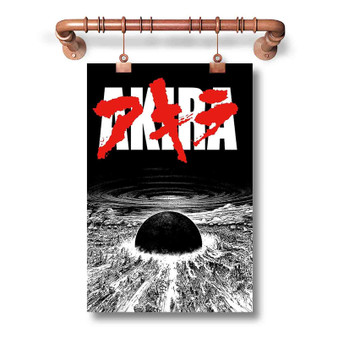 AKIRA Neo Tokyo Is About To Explode Custom Art Silk Poster Wall Decor 20 x 13 Inch 24 x 36 Inch