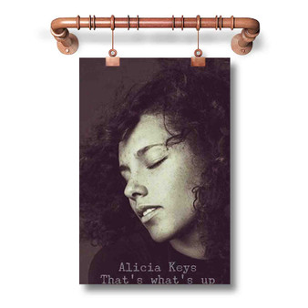 Alicia Keys That s What s Up Custom Art Silk Poster Wall Decor 20 x 13 Inch 24 x 36 Inch