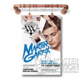Martin Garrix New Custom Wall Art Silk Poster Wall Decor 20 x 13 Inch 24 x 36 Inch