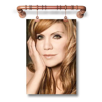 Alison Krauss Custom Art Silk Poster Wall Decor 20 x 13 Inch 24 x 36 Inch