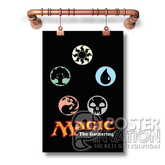 Magic The Gathering Custom Art Silk Poster Wall Decor 20 x 13 Inch 24 x 36 Inch