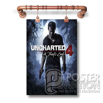 Uncharted 4 A Thief s End Custom Wall New Art Silk Poster Wall Decor 20 x 13 Inch 24 x 36 Inch