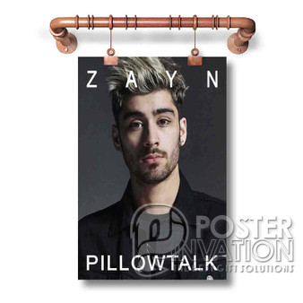 Zayn Malik Pillow Talk Custom Art Silk Poster Wall Decor 20 x 13 Inch 24 x 36 Inch