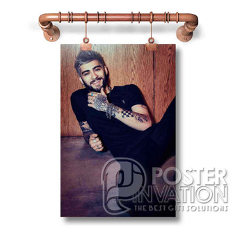 Zayn Malik Smile Custom Art Silk Poster Wall Decor 20 x 13 Inch 24 x 36 Inch