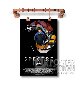007 Spectre James Bond Custom Art Silk Poster Wall Decor 20 x 13 Inch 24 x 36 Inch