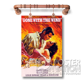 Gone With The Wind Custom Decoration Art Silk Poster Wall Decor 20 x 13 Inch 24 x 36 Inch
