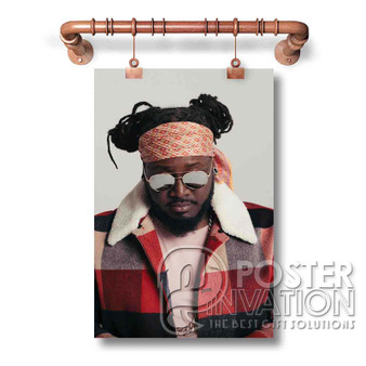 T Pain Custom Art Silk Poster Wall Decor 20 x 13 Inch 24 x 36 Inch