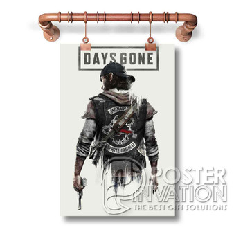 Days Gone Custom Art Silk Poster Wall Decor 20 x 13 Inch 24 x 36 Inch