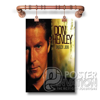 Don Henley Custom Art Silk Poster Wall Decor 20 x 13 Inch 24 x 36 Inch