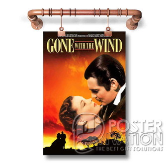 Gone with the Wind Custom Art Silk Poster Wall Decor 20 x 13 Inch 24 x 36 Inch
